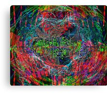 Abstract Animal Collective  Canvas Print