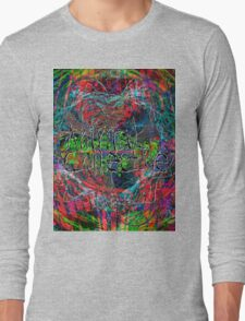 Abstract Animal Collective  Long Sleeve T-Shirt