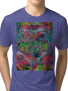 Abstract Animal Collective  Tri-blend T-Shirt