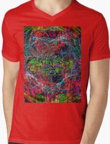 Abstract Animal Collective  Mens V-Neck T-Shirt