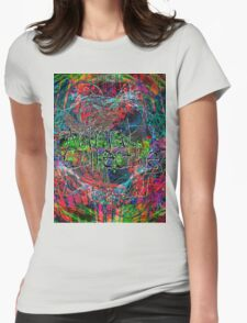 Abstract Animal Collective  Womens Fitted T-Shirt
