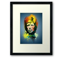 Rebel Rebel Framed Print