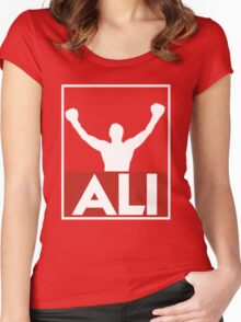 Muhammad Ali - Victory Women's Fitted Scoop T-Shirt