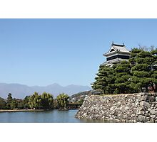 Matsumoto Castle Photographic Print