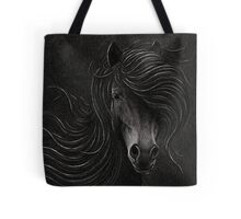 Night Horse Tote Bag