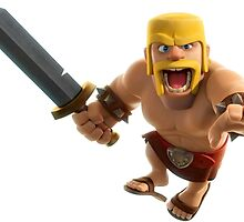 Clash of Clans Barbarian by TheBarriee