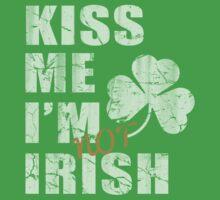Kiss Me I'm Not Irish One Piece - Short Sleeve