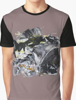 """Snake Bites Mounting!"" - Big Original Wall Modern Abstract Art Painting  Graphic T-Shirt"