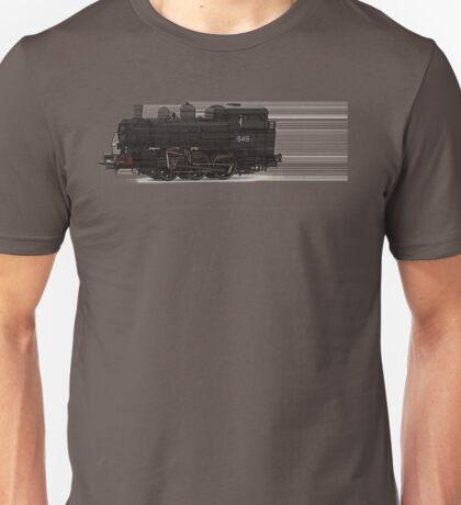 train tan Unisex T-Shirt