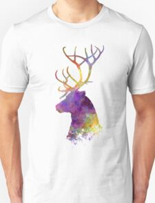 Reindeer 01 in watercolor T-Shirt