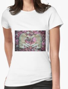I Heart You. Womens Fitted T-Shirt
