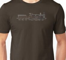 train brown Unisex T-Shirt