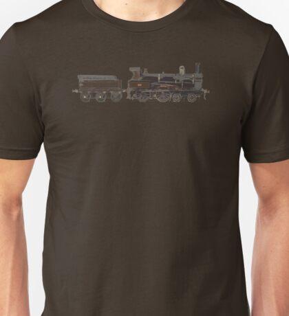 train brown Unisex T-Shirt
