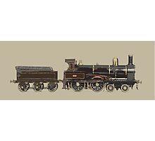 train brown Photographic Print