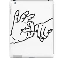 Fingerbang - Funny, erotic art, fun t-shirts, kinky drawing, popular humor iPad Case/Skin