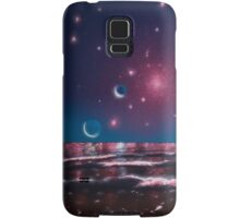 Alien beach scene: Star dream Samsung Galaxy Case/Skin
