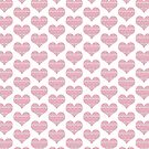 Patterned Hearts Pattern by Mariya Olshevska