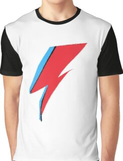 David Bowie / Ziggy Stardust Makeup Graphic T-Shirt