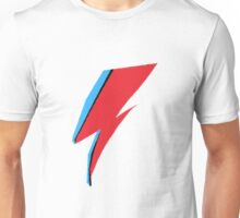 David Bowie / Ziggy Stardust Makeup Unisex T-Shirt