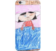 OG Annoyed Sleeping girl - ABC '14 iPhone Case/Skin