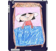 OG Annoyed Sleeping girl - ABC '14 iPad Case/Skin