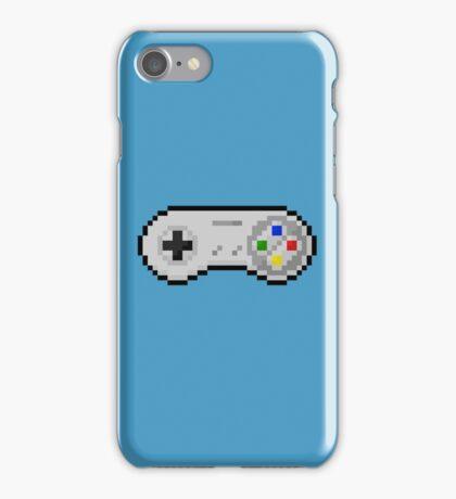 super nintendo joystick retro iPhone Case/Skin