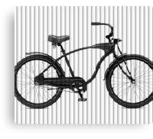 Bike Lines Canvas Print