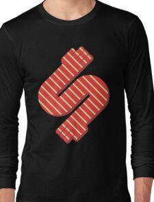 Striped Hands Long Sleeve T-Shirt