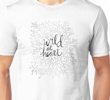 Wild at Heart – Silver Unisex T-Shirt