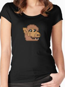 8-Bit ALF Women's Fitted Scoop T-Shirt