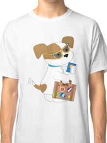 Cute Puppy Travel Classic T-Shirt