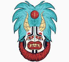 Red Monster wearing Japanese Mask  Unisex T-Shirt