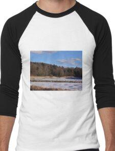 Finally Freezing Men's Baseball ¾ T-Shirt