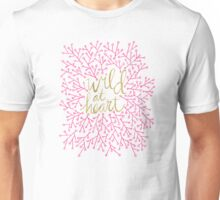 Wild at Heart – Pink & Gold Unisex T-Shirt
