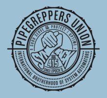 International Brotherhood of System Automators (large logo) Kids Tee