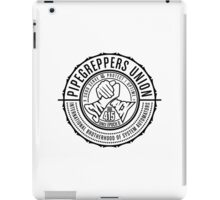 International Brotherhood of System Automators (large logo) iPad Case/Skin