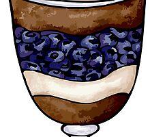 Blueberry Parfait by Mariya Olshevska