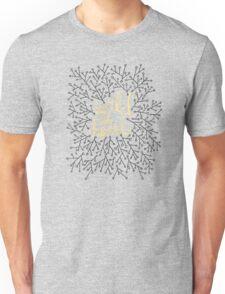 Wild at Heart – Gold on Black Unisex T-Shirt