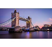 London Tower Bridge Photographic Print