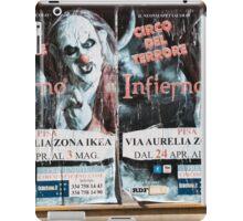 Circo Del Terrore iPad Case/Skin