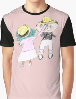 Your hat is crooked!! let me fix that. :D - ABC '14 Graphic T-Shirt