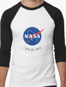 I Need My Space Colour Men's Baseball ¾ T-Shirt