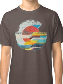 Digital Sun Horizon  Classic T-Shirt