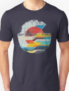 Digital Sun Horizon  Unisex T-Shirt