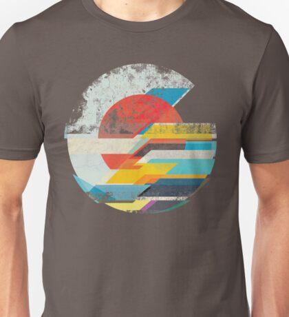 Digital Sun Horizon  Unisex T-Shirt