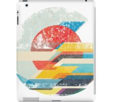 Digital Sun Horizon  iPad Case/Skin