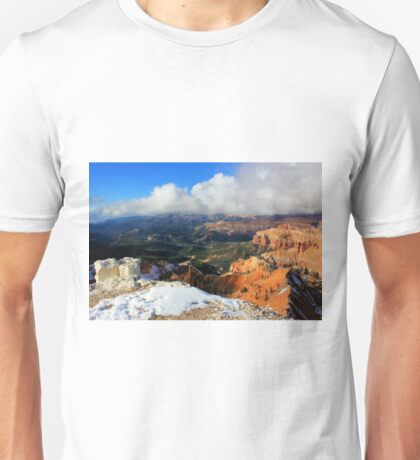 View from Canyon Lookout  Unisex T-Shirt