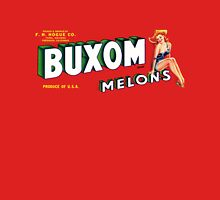 How Buxom are Your Melons? (now in any color!) Women's Fitted Scoop T-Shirt