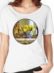 Daffodils on Mantelpiece Women's Relaxed Fit T-Shirt