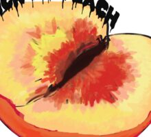 Lick my peach 2 Sticker